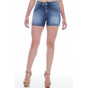 f778f630f Shorts Jeans Z-32 Mid Rise Angie Lus Azul