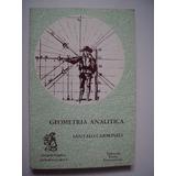 Geometría Analítica - Marcelo Santaló & Vicente Carbonell