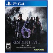 Resident Evil 6 - Ps4 Juego Nuevo - P.o.