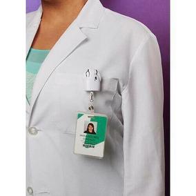 Porta Identificacion Pvc Para Medico Bata Blanca Y Corazón
