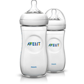 Avent - Biberon Natural De Polipropileno De 330 Ml Pack 2