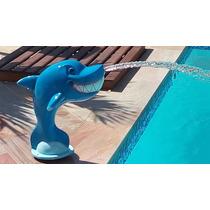 Cascata Fibra Piscina Tubarão - 58cm