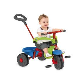 Triciclo Velotrol Smart Plus Infantil Bandeirante Vermelho