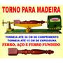 Mini Torno De Madeira 60 Cm
