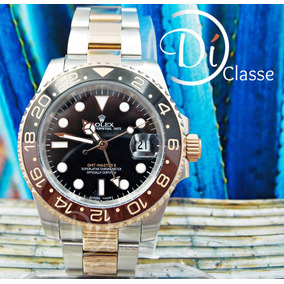 Reloj Rolex Gmt Master Il Combinado/acero Oro Rosa