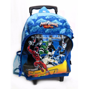 Mochila Colegial Con Carro Power Ranger 1678 Children