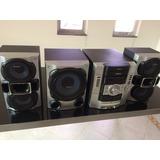 Aparelho De Som Sony Com Subwoofer E 2 Caixas Acústicas