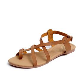 Zapatos Sandalias Huaraches Dama Zapatillas Moda Cafe 1203