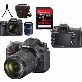 Câmera Nikon D7200+18-140+bolsa+tripé+32gb Envio Hj Com Nf-e