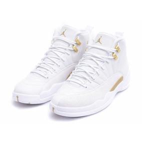 Tênis Nike Air Jordan 12 Ovo White Original Novo Na Caixa