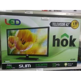 Televisor 42 Led Marca Hok - Full Hdmi - Usb 2.0
