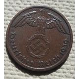 Moneda Alemania Nazi 1 Reichspfennig Bronce ( N C )