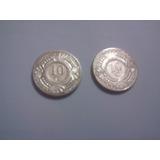 Monedas Nederlandse Antillen 10c De Varios Años