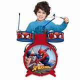 Bateria Infantil Do Homem Aranha Toyng Ref: 30491