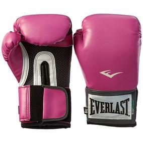 Everlast Pro Style Guantes Entrenamiento Box 8 Onzas Rosas