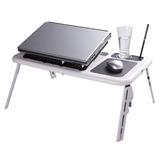 Bandeja Mesa Cooler Plegable Para Laptop Mobelstore