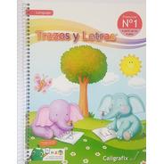 Trazos Y Letras N°1 Preescolar Lenguaje Infantil Cx (4 Años)