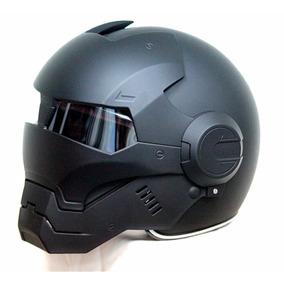 Capacete De Moto Exclusivo Homem De Ferro - Promoção