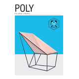 Silla Moderna Diseño Industrial Poly Metal Y Madera- Cordoba