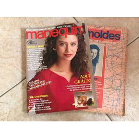 Revista Manequim 363 Maria Fernanda Cândido Ano 1990