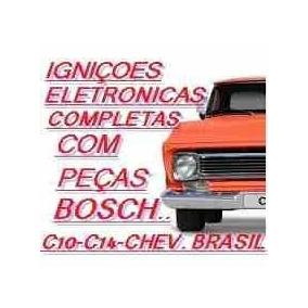 Igniçao Eletronica C10 - Chevrolet Brasil Com Peças Bosch