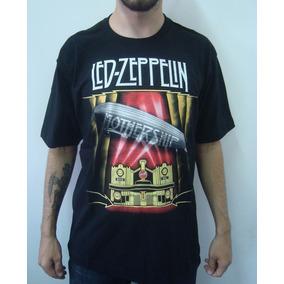 Kit Camiseta Led Zeppelin - Camisetas Manga Curta Masculino no ... 3c8b587b22673
