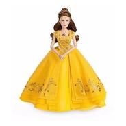 A Bela E A Fera Linda Boneca Bela Original Disney Store 28cm