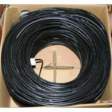 Cable Utp 2 Pares 4 Hilos Cal.24 P/exteriores 300 Mts B01