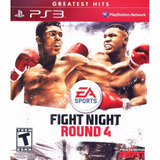 Juego Ps3 Fight Night Round 4 Físico Original Sellado