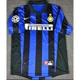 La 1+8 !!! Camiseta Inter De Milan Ivan Zamorano Ronaldo