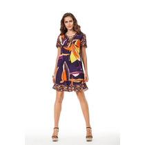 Vestido Estampado Maria Valentina