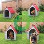 Casa Para Perro Ecológica De Alta Duración Chica