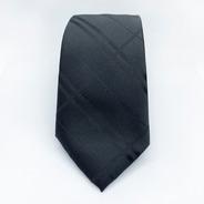 Corbata Negra Slim Tie Delgada De Moda Para Hombre 6 Cm