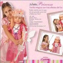 Muñeca Julieta Princesa Varita Bebote Sonido Nena En Smile