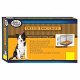 Casa Para Perro Cuatro Patas Cajón Deluxe Doble Puerta Gran