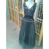 Vestido Negro Exclusivo De Tienda Mundo De Novia