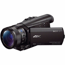 Sony Fdr-ax100e 4k Ultra Hd Camcorder Ax100 Profissional Uhd