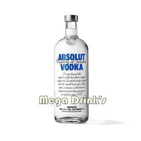 Vodka Absolut Natural 1 Litro