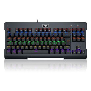 Teclado Mecânico Gamer Redragon Visnu K561r-2, Switch Blue