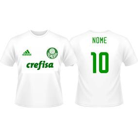 8dcaf30519 Camisa Do Palmeiras Branca Samsung - Camisa Casual no Mercado Livre ...