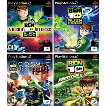 Ben 10 Collection (4 Jogos) Patch Ps2 Desbloqueado