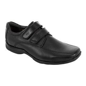 Zapatos Escolares Para Niño Flexi Negro Modelo 93512