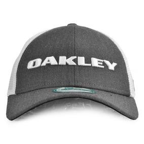 Boné Oakley Heather New Era Aba Curva Snapback Cinza 0701bd5a8b4