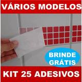 Kit 25 Adesivos Imita Pastilha + Brinde - Azulejo (15x15cm)