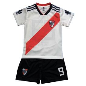 Conjunto Camiseta Y Short Bebe River Personalizada