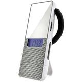 Radio Am Fm Digital Led E Relogio De Banheiro Com Espelho To