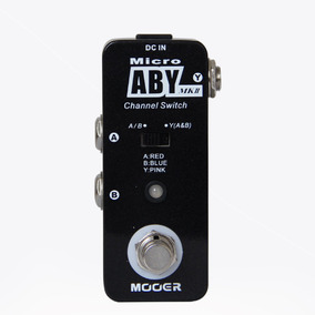 Pedal Comutador Guitarra Mooer Aby Mk2 Nova Versão