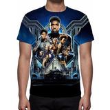 Camiseta, Camisa Filme Pantera Negra - Frete Grátis