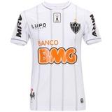 Camisa Lupo Atlético Mineiro Libertadores 2013 S/nº Branca