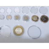 Capsulas Para Monedas Diferentes Diametros